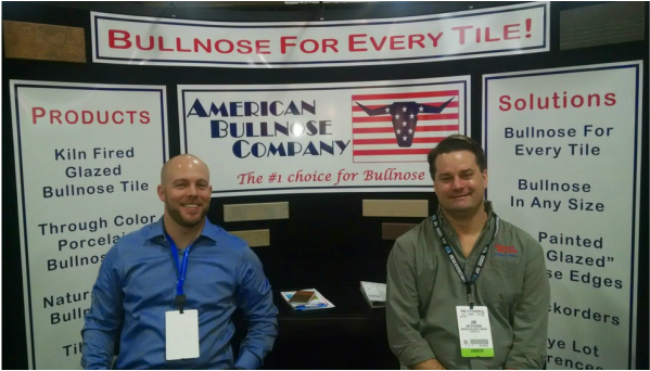 Josh and Jim and at our booth at Surfaces 2015ure
