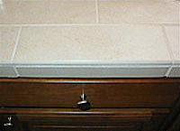 Glazed Bullnose Tile