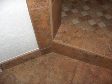 Shower Curb Bullnose
